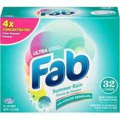 Fab Ultra Summer Rain Laundry Detergent