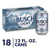 Busch Light Beer Cans