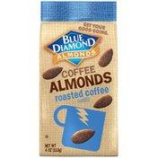 Blue Diamond Almonds Roasted Coffee Coffee Almonds