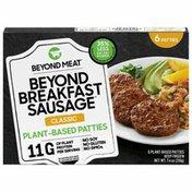 Beyond Meat Beyond Breakfast Sausage, Plant-Based Breakfast Patties, Classic