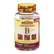 Nature Made Vitamin B Complex Adult Gummies, Cherry