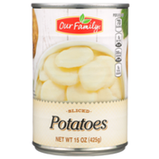 Our Family Sliced Potatoes