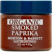 Morton & Bassett Spices Paprika, Organic, Smoked