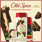 Old Spice Timber with Sandalwood Body Wash, Body Spray & Antiperspirant & Deodorant for Men Old Spice Timber with Sandalwood Body Wash, Body Spray & Antiperspirant &