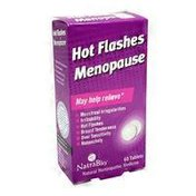 NatraBio Hot Flashes Menopause Relief Tablets