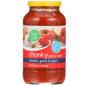 Food Club Tomato, Garlic & Onion Chunky Pasta Sauce