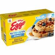 Kellogg's Nutri-Grain Frozen Waffles, Good Source of 9 Vitamins and Minerals