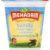 MEHADRIN Yogurt, Lowfat, Vanilla