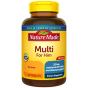 Nature Made Value Size Men's Multivitamin Tablets