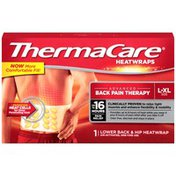 ThermaCare L-XL Size Lower Back & Hip Pain Therapy Heatwrap