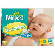 Pampers Swaddlers Mega Pack Size 2 Diapers
