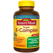 Nature Made Super B Complex with C and Folic Acid