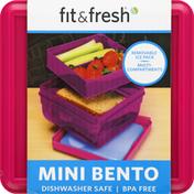 Fit & Fresh Mini Bento, Pink
