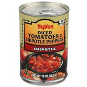 Hy-Vee Chipotle Diced Tomatoes & Chipotle Peppers