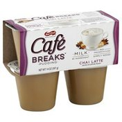 Cafe Breaks Pudding, Chai Latte