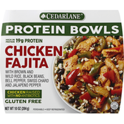 Cedarlane Foods Protein Bowl, Chicken Fajita