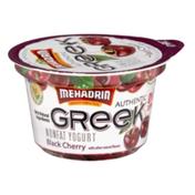 Mehadrin Nonfat Greek Yogurt Black Cherry