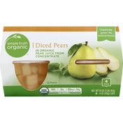 Simple Truth Organic Pears, Diced
