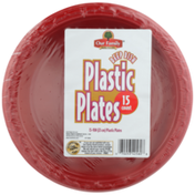 Our Family Deep Dish Plastic Plates
