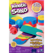 Kinetic Sand Rainbow Mix Set, 3 Colors, 3+