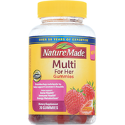 Nature Made Multi for Her, Gummies, Strawberry
