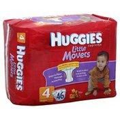 Huggies Diapers, Size 4 (22-37 lb), Winnie the Pooh, Mega