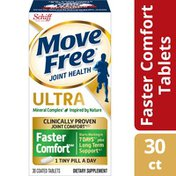 Movefree® Calcium & Calcium Fructoborate Based Ultra Faster Comfort Tablets, Joint Health Supplement