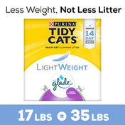 Purina Tidy Cats Low Dust, Multi Cat, Clumping Cat Litter, LightWeight Glade Clean Blossoms