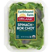Earthbound Farm Organic Spinach + Bok Choy