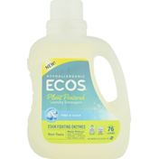 ECOS Laundry Detergent, Plant-Powered, Hypoallergenic, Free & Clear