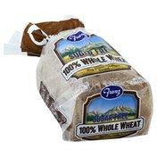 Franz Bread, Sugar Free, 100% Whole Wheat