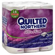 Quilted Northern Bathroom Tissue, Double Rolls, 3-Ply