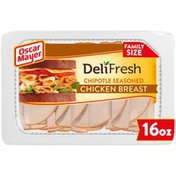 Oscar Mayer Chipotle Seasoned Chicken Breast Sliced Lunch Meat Family Size