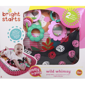 Bright Starts Prop Mat, Pretty in Pink, Wild Whimsy, 0 Months