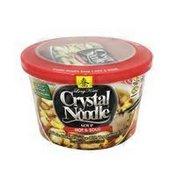 Crystal Noodle Soup, Hot & Sour