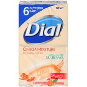 Dial Omega Packed Sea Berries Glycerin Soap