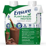 Ensure Plant-Based Protein Nutrition Shake Chocolate