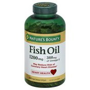 Nature's Bounty Fish Oil, 1200 mg, Rapid Release Softgels