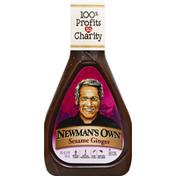 Newman's Own Dressing, Sesame Ginger