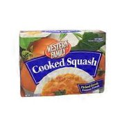 Western Family Cooked Squash
