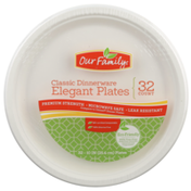 Our Family Classic Dinnerware Elegant Plates