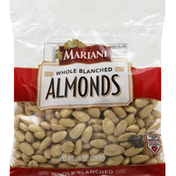 Mariani Almonds, Blanched, Whole