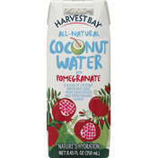 Harvest Bay Coconut Water, with Pomegranate