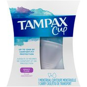 Tampax Menstrual , Heavy Flow, With Carrying Case