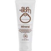 Sun Bum Sunscreen Lotion, Mineral, Broad Spectrum SPF 30