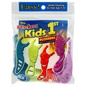 Plackers Flossers, with Fluoride, Kids 1st