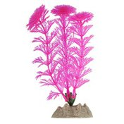 GloFish Small Pink Fluoresent Plant