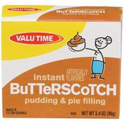 Valu Time Butterscotch Instant Pudding & Pie Filling