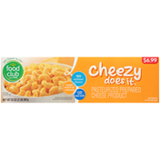 Food Club Cheezy Does It, Pasteurized Prepared Cheese Product