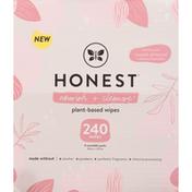 Honest Tea Plant-Based Wipes, Sweet Almond + Almond Oil and Jojoba